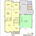 Example Standard Floor Plan in Color