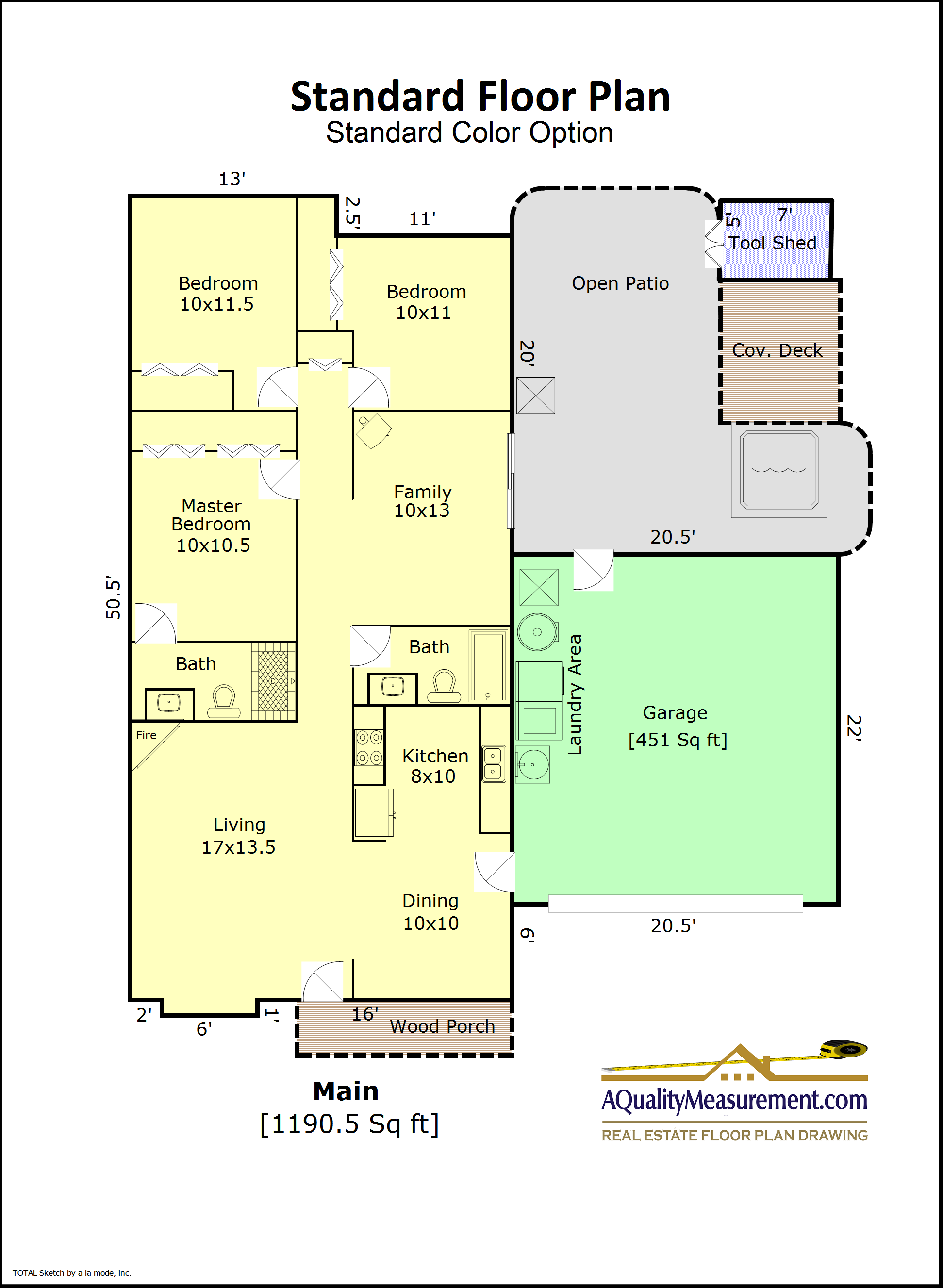Standard Floor Plan in Standard Color available around Portland.