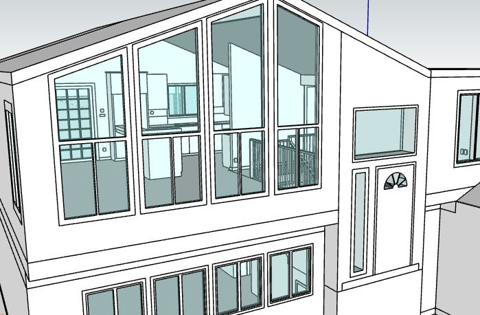 This is a 3D scan to CAD model done in Portland with SketchUp.